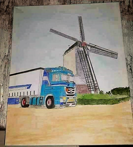 Mercedes-and-Windmill