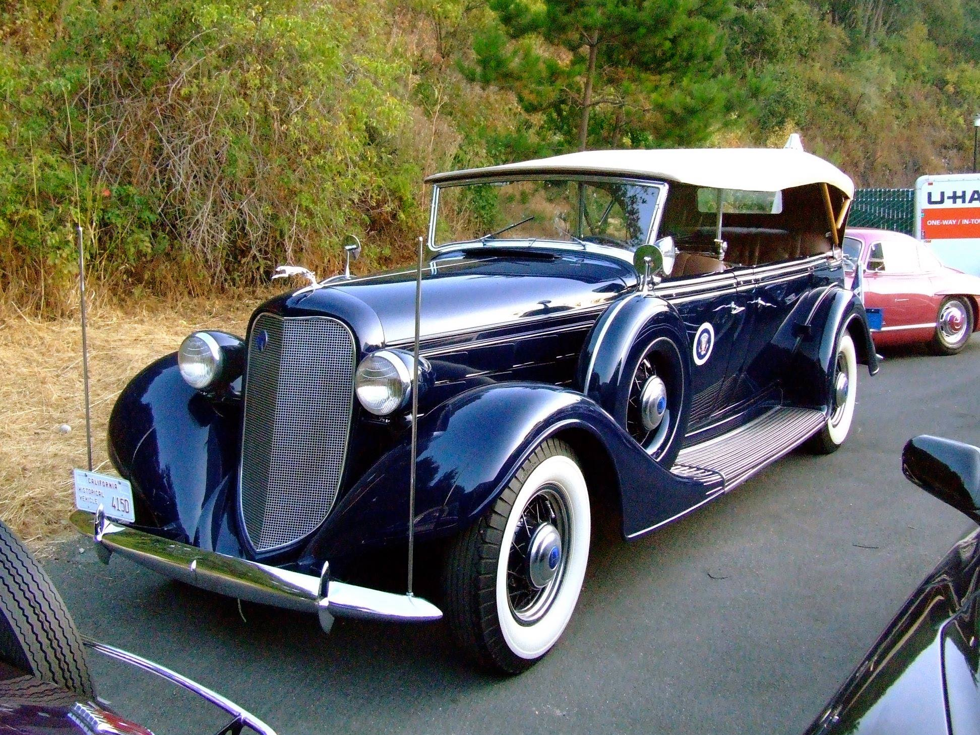 Franklin-D--Roosevelt-s-1935-Lincoln-Model-K-V-12-Phaeton