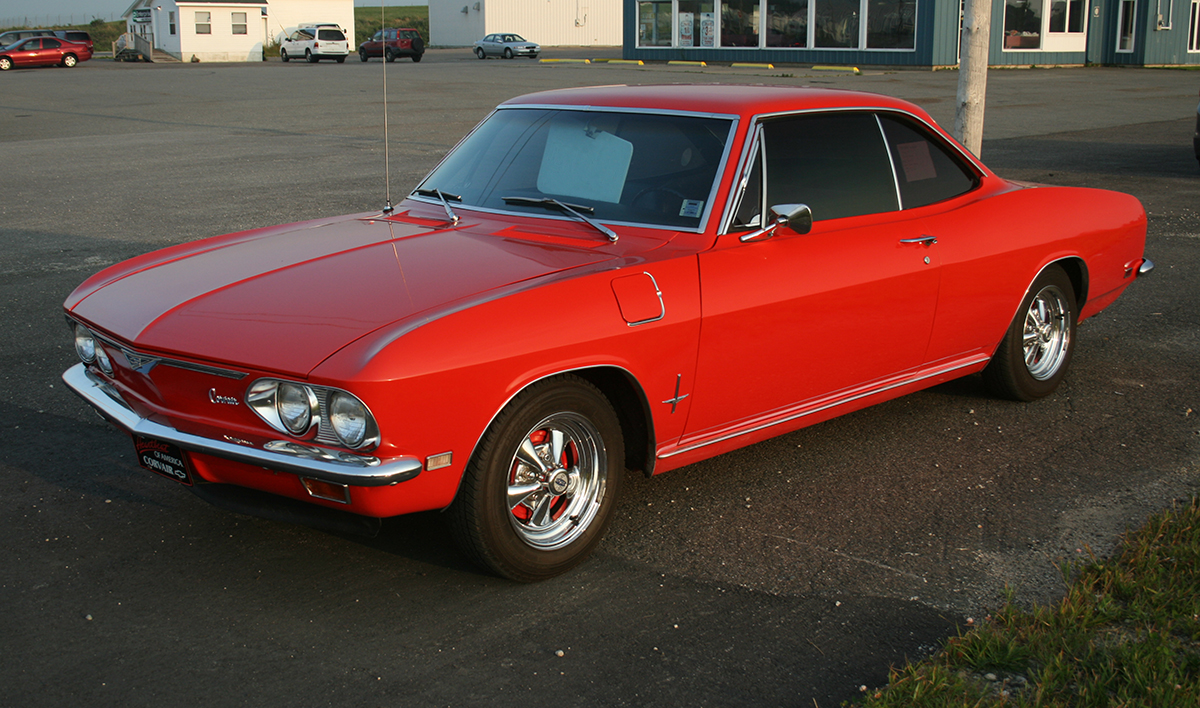 1967_Chevrolet_Corvair_Monza_Front