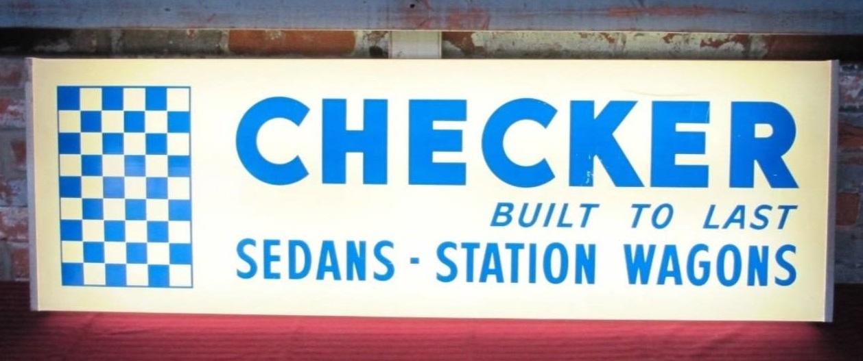 Checker-Motors-Corporation-vintage-sign