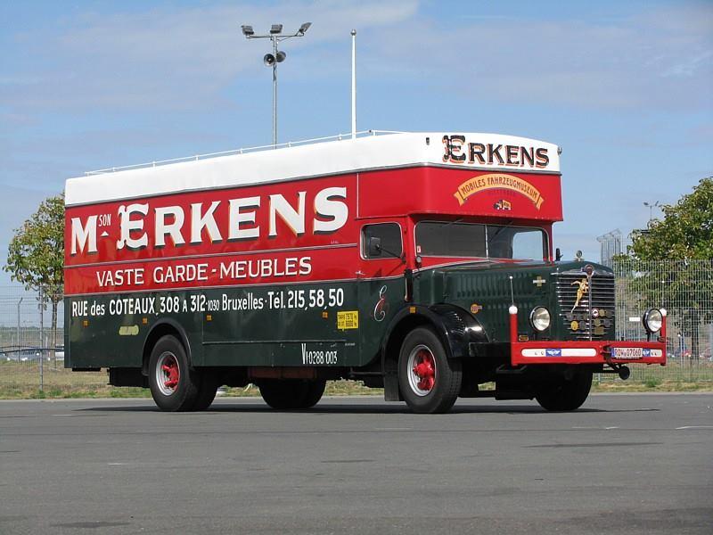 Bussing-verhuiswagen