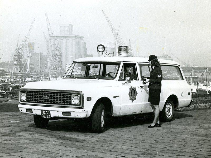 Chevrolet-C10-der-Gemeentepolitie-Rotterdam-1972