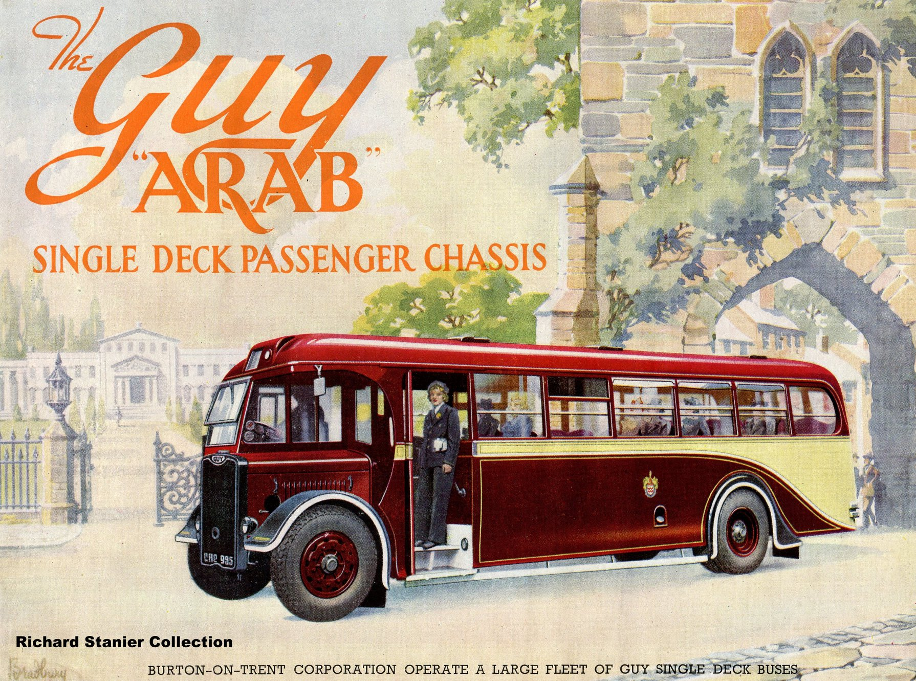 Guy-arabische-single-deck-bus