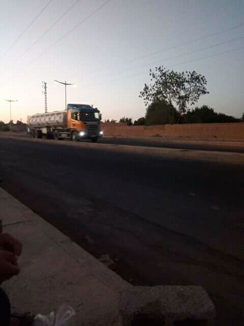 Scania-onderweg