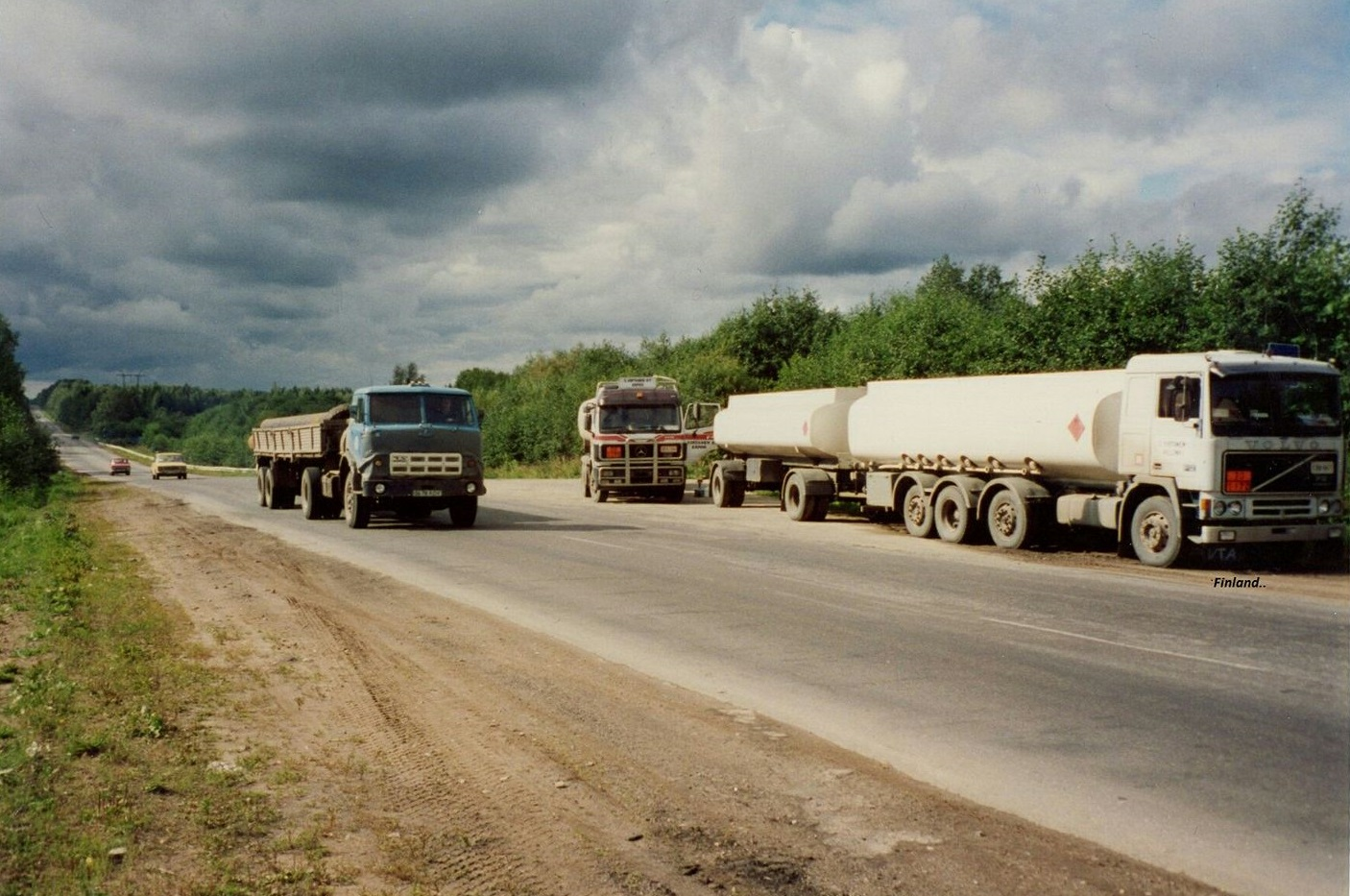 Transport-Espoo-Finland-near-Russia-1990