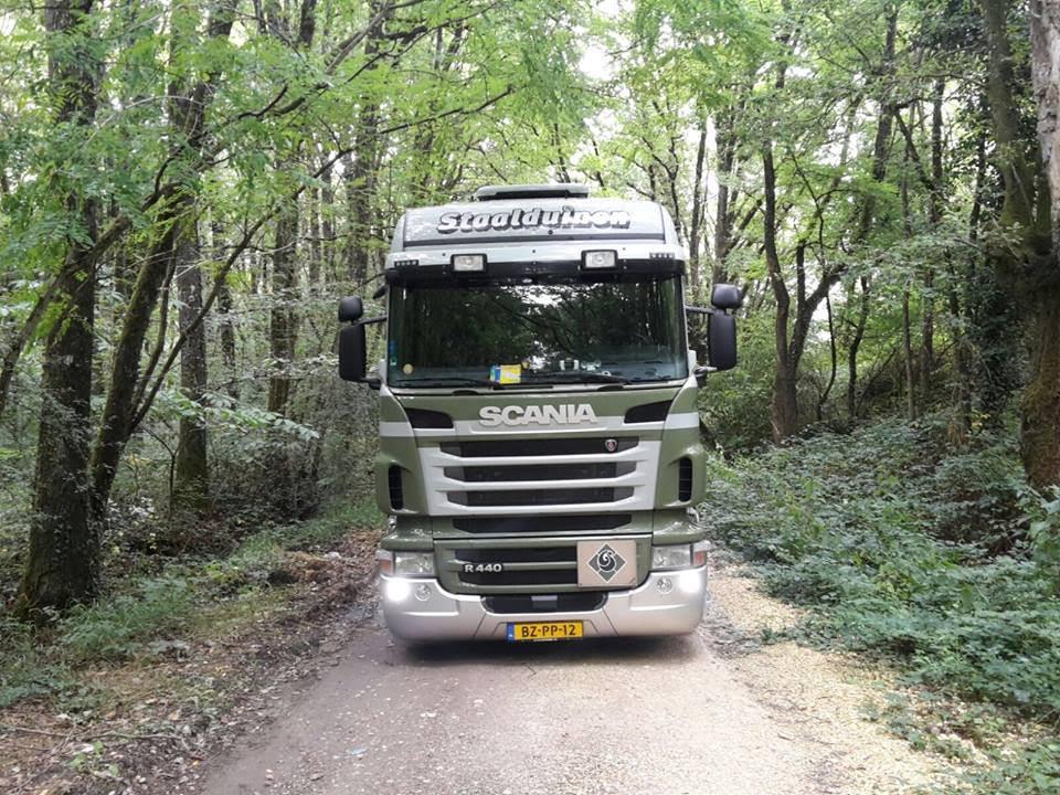 Scania-R-in-het-bos