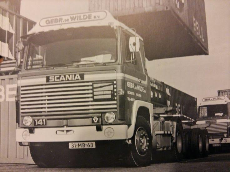 Scania-in-de-haven