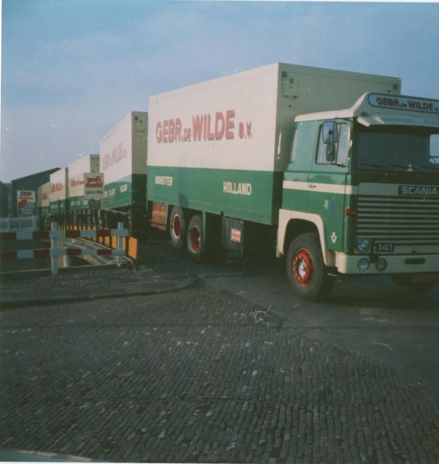 Scania-bakwagen