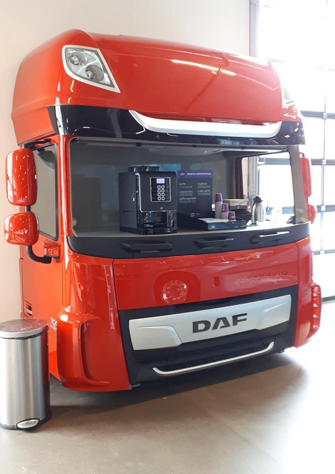 DAF-koffie-bar