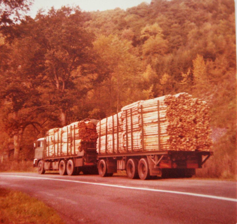 DAF-Truck-is-door-Rondaan-in-Beetgum-opgebouwd-met-een-RAF-tandemas-aanhangwagen-is-van-J-Kuperus-uit-Wijnaldum-houttransport-in-de-Ardennen--2