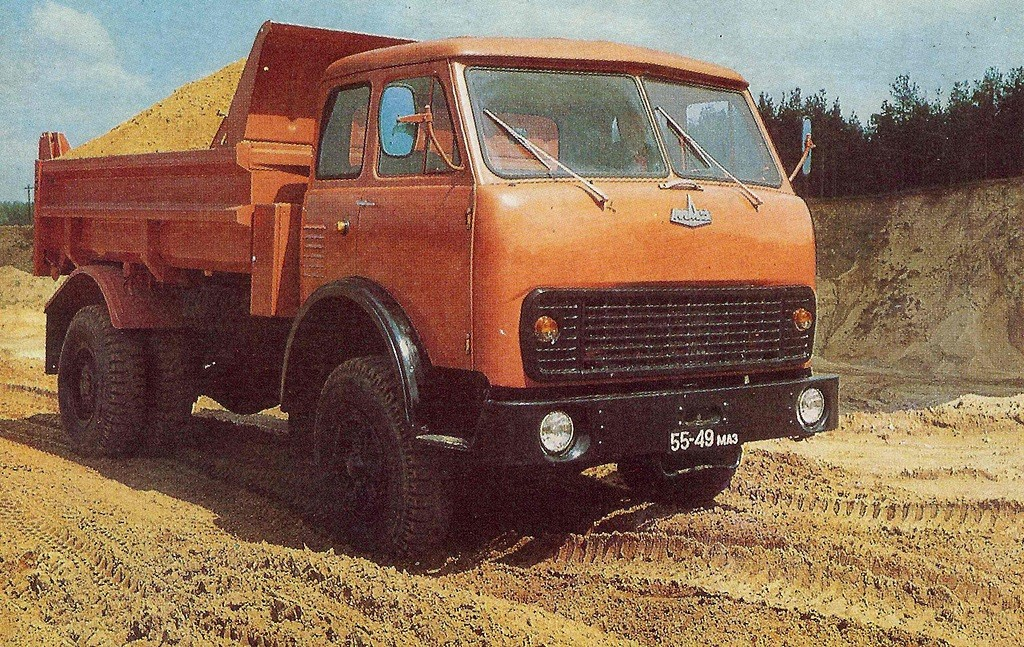 MAZ-5549-1977-1990