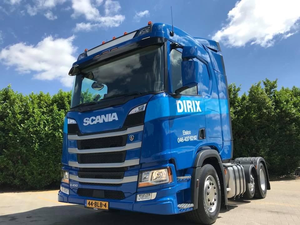21-6-2018-Scania-R450-4x2-in-ontvangst-mogen-nemen-voorzien-van-extra-verlichting--midliftas--kipper-en-WF-hydroliek--navi--enz--wij-wensen-onze-chauffeur-Mathey-Feenstra-veel-plezieri