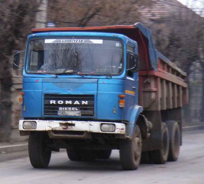 Roman-Diesel-dumper-