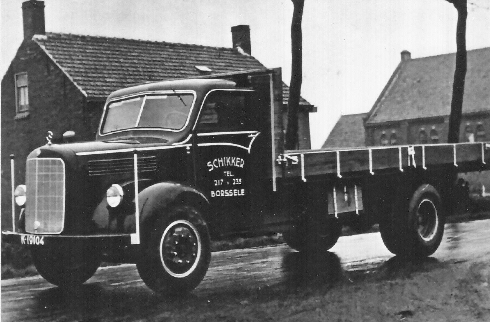 Mercedes-melk-truck