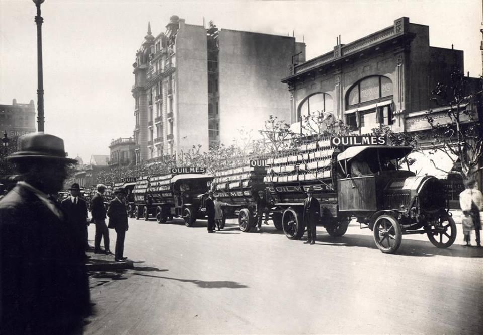 Levering-trucks-bier-quilmes-brasil-1915