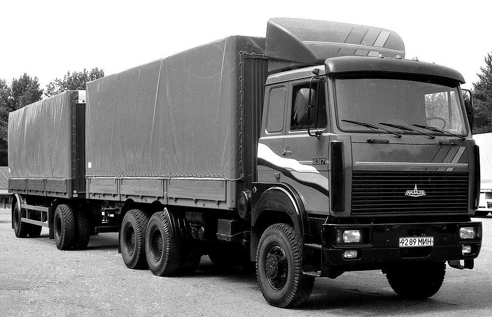 MAZ-63171-6X6-1977