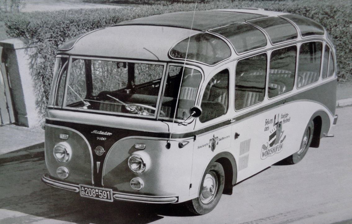 1953-Oscar-Vidal--Sohn-Tempo-Werk-Hamburg-Harburg-Tempo-Matador-1400-Luxuskleinbus-der-Bad
