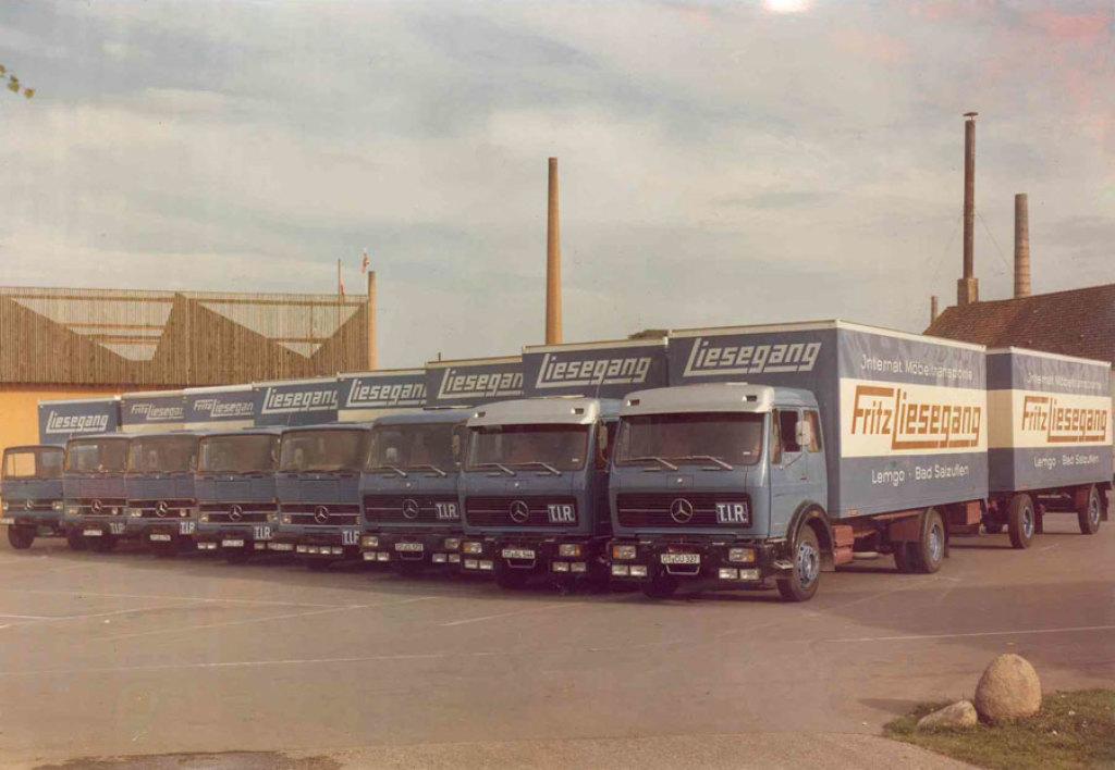 1977-LKW-Flotte
