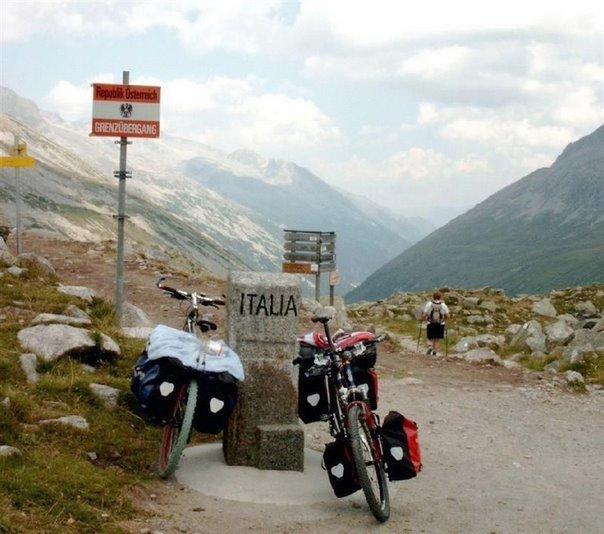Grensovergang--Oostenrijk---Italie