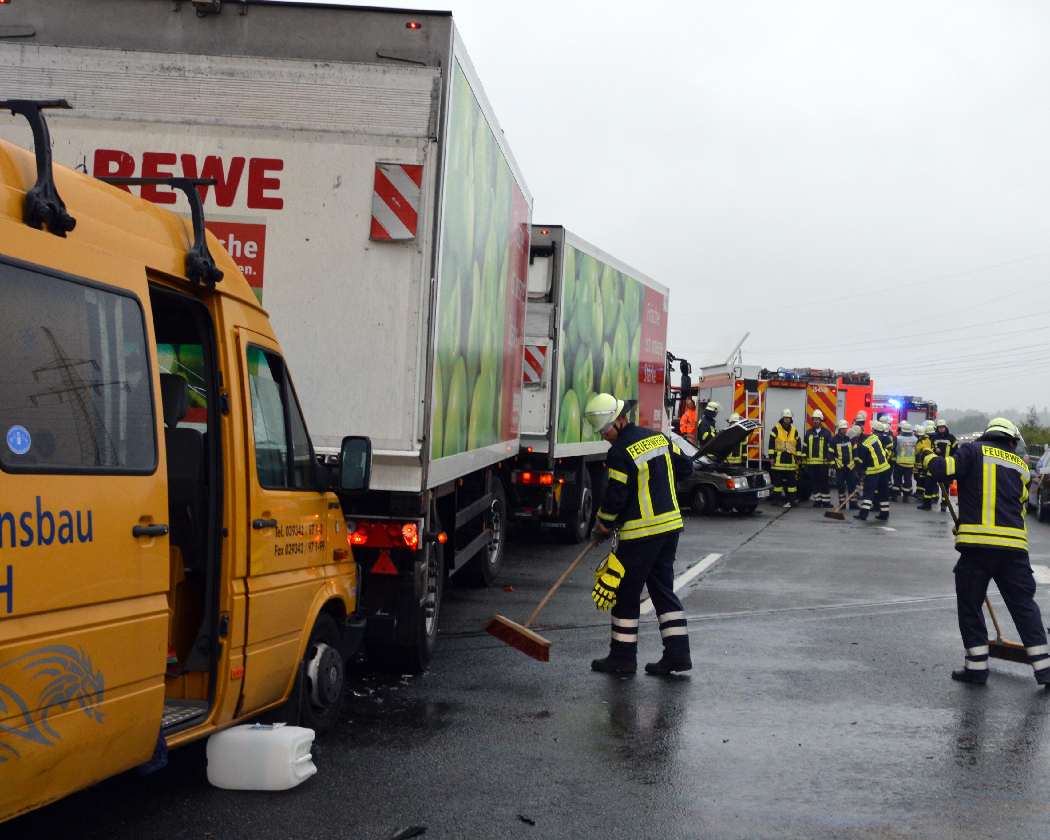 Unfall-autoweg