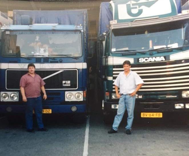 John-Caris-en-Marcel-Moemen--1990-bij-Streck-Lorrach