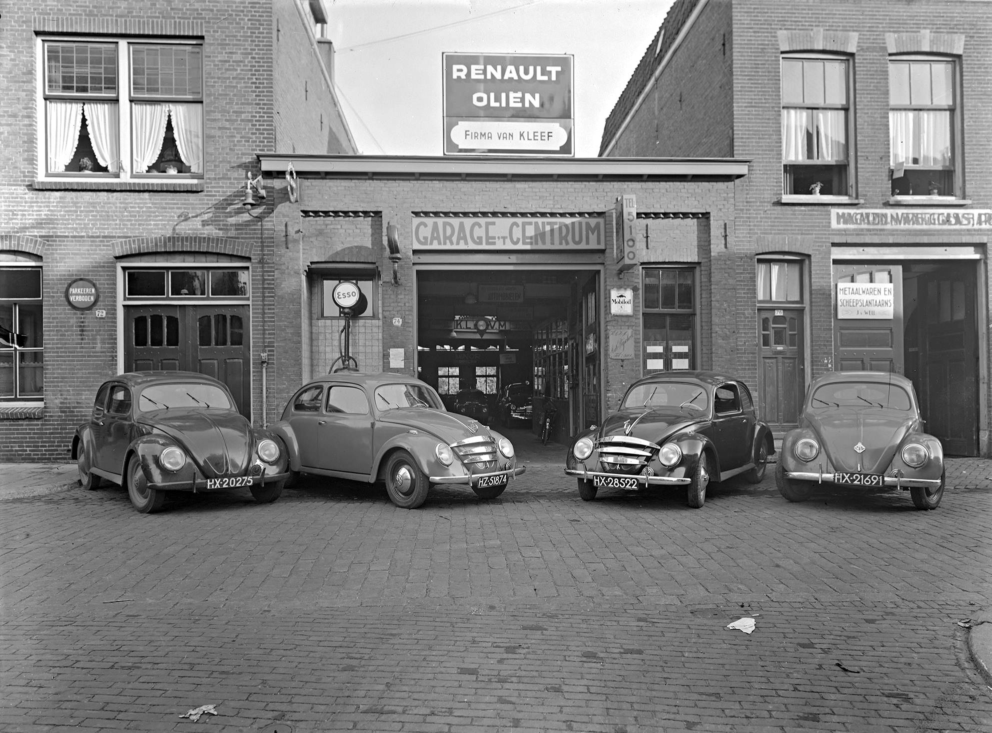 Garage-vest-t-Centrum-Firma-van-Kleef-1954--