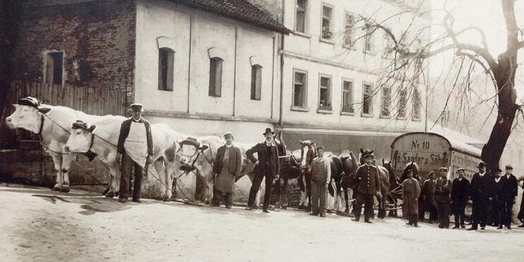 0-grundung-durch-stadtfurmann-Johann-Murrman--met-unterhalt-von-stallungen-fur-12-pferde