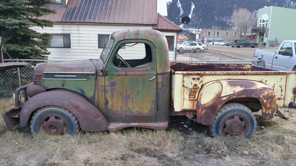 Trucks--Glenn-Miller--In-a-small-town--somewhere-in-the-Colorado-Rocky-Mountains-1
