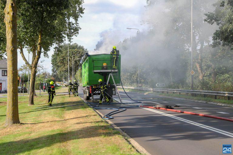 Vrachtwagenbrand-Randweg-Noord-Nederweert-30-8-2018-