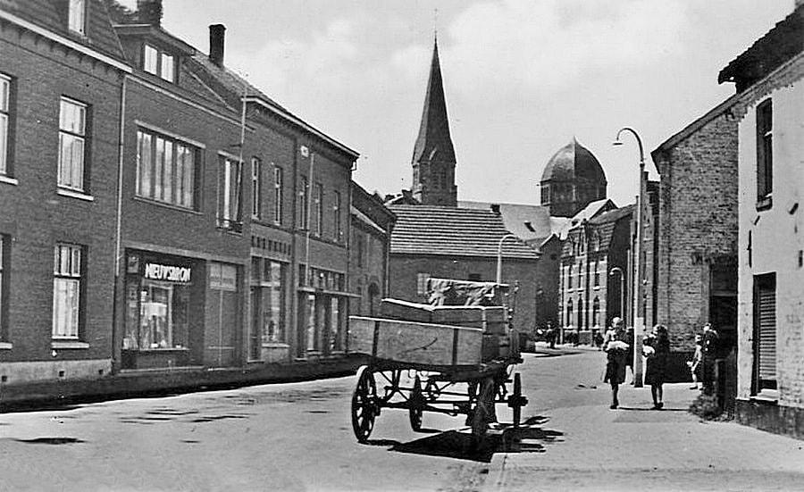 Brunssum-Dorpsstraat-rond-1940