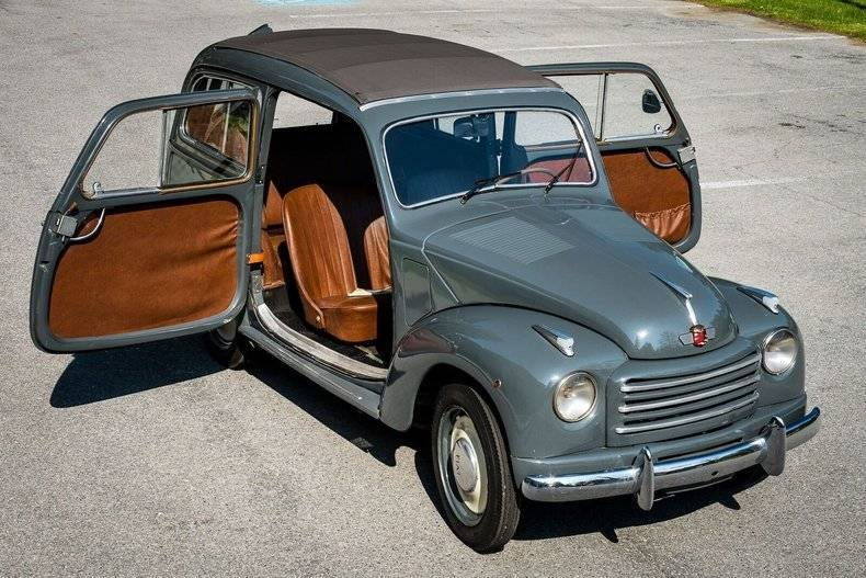 Fiat-Topolino-500c-Belvedere-3-Door-Station-Wagon-with-Folding-Sunroof-and-Suicide-Doors--1952---1