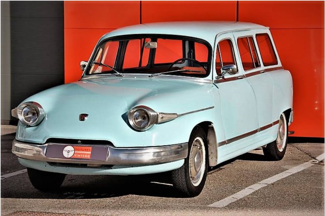 PANHARD-LEVASSOR-Break--de-1964