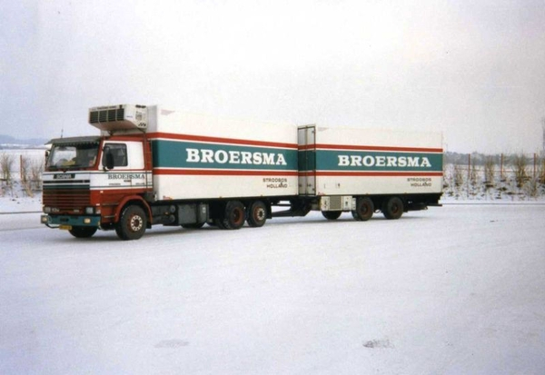 Scania-----in-de-winter