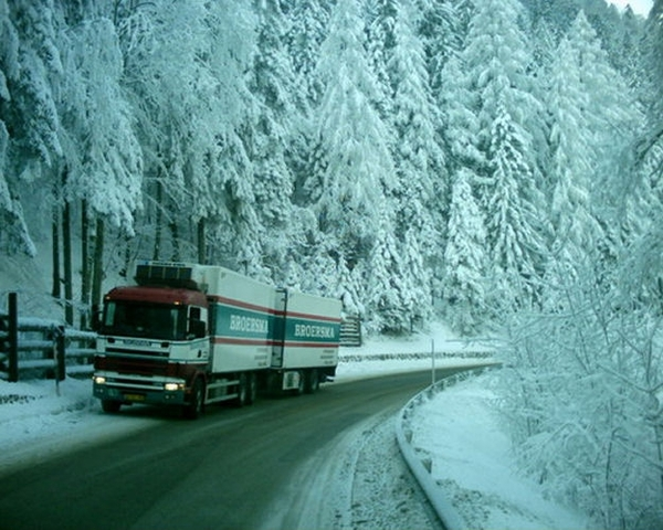 Scania---in-de-winter