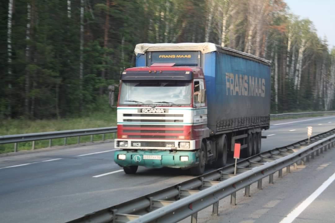 Scania-113-in-Rusland
