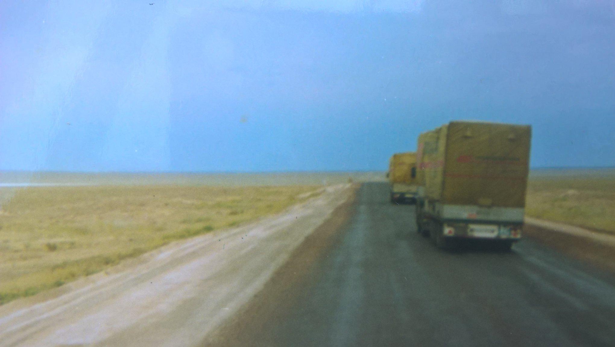 1988--Budapest--Oslo-Moskva-Alma-Ata-Biskek-Akjar-Kirgiztan-7