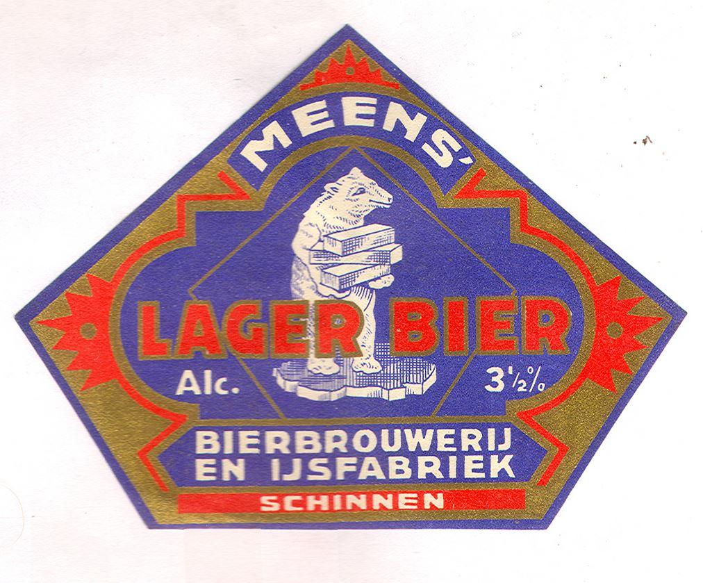 In-ons-archief-vonden-we-oude-etiketten--Leuk-om-eens-te-bekijken--Van-1870-tot-1953-had-onze-brouwerij-de-naam-Meens-bier-vanaf-1953-werd-het-Alfa-bier-1