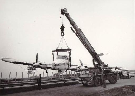 gestrand-vliegtuig-