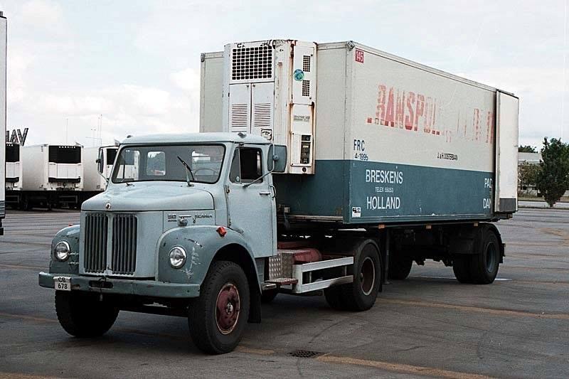 Scania-Vabis---VOORUIT-PADBORG-DANMARK-VOORLAADT-TREKKER