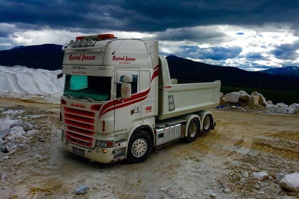 Scania-tipper
