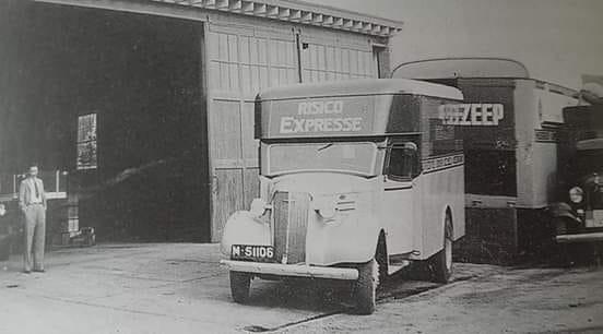 Rein-de-Jong-bestelwagen
