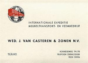 Casteren_kaartje_1960-