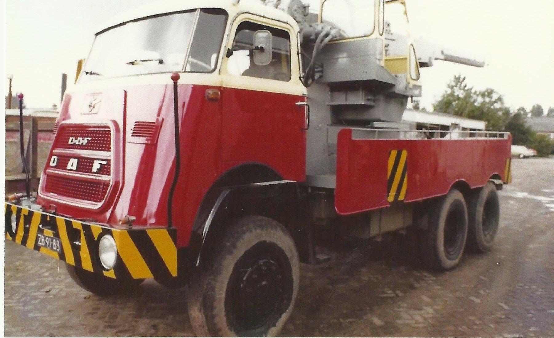 Kraanwagen--DAF--