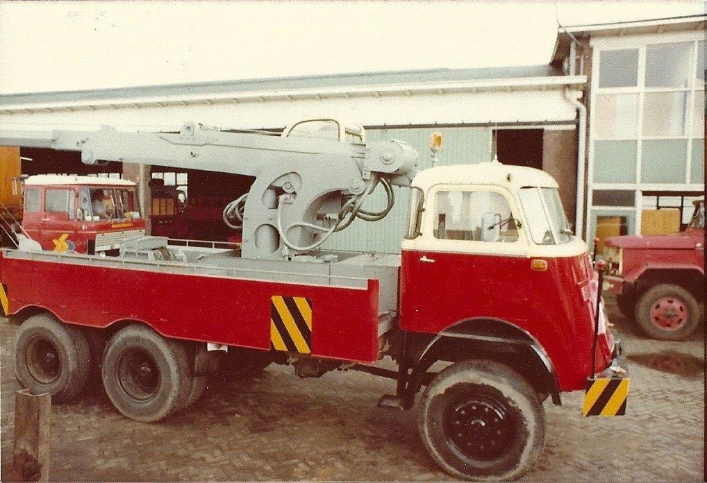 Kraanwagen--DAF-6X4--