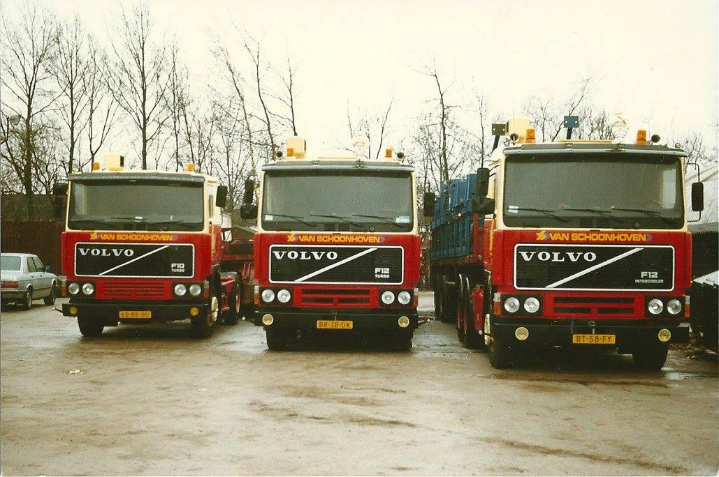 Volvo-op-rij