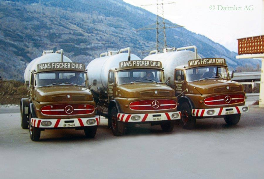 Mercedes--tankwagens