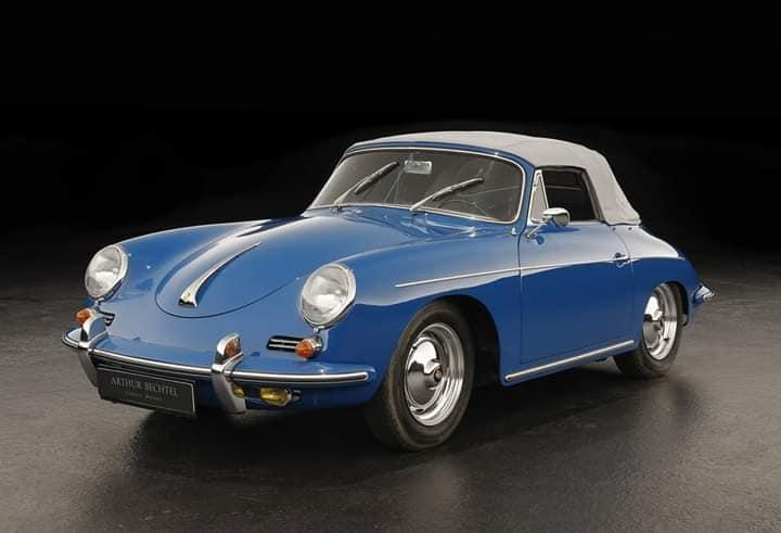 Porsche-356-B-Cabriolet--1963--1