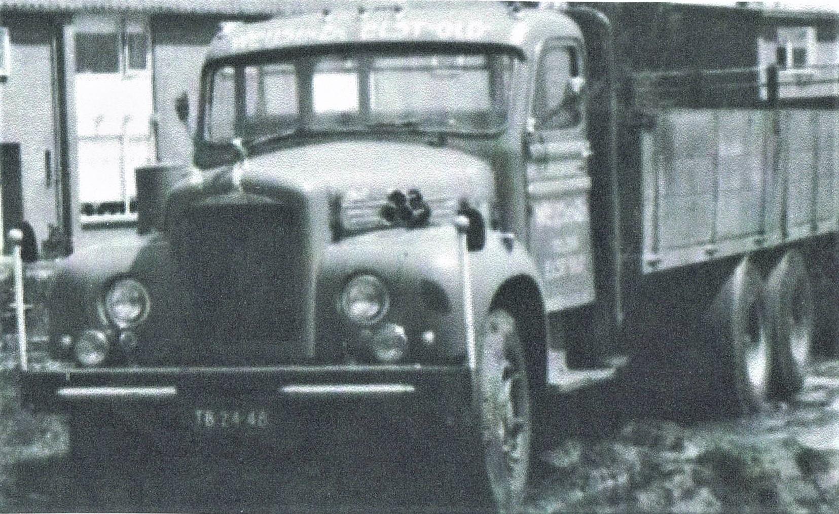 Mack-stenenwagen