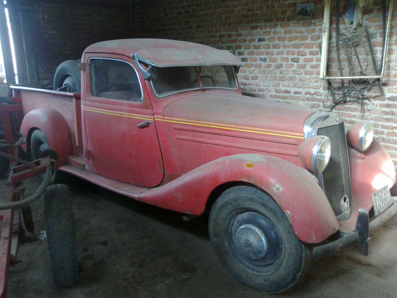 Mercedes-Pickup-1952-