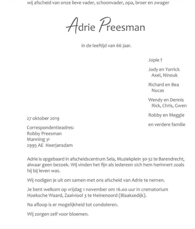 Adrie-Peesman